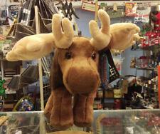 Alaska stuffed animal - Moose - Alaska tag on leg - Cute Moose Alaska Plush New!