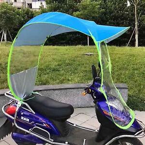 Universal Auto Motorroller Blau Regenschirm Mobilität Sonne & Regenschutz