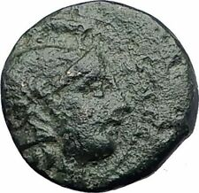 LYSIMACHOS 323BC Genuine Ancient Greek Coin with ALEXANDER the GREAT LION i63234