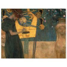 Gustav Klimt, Die Musik, Poster