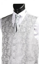 Waistcoat Silver Occasion Wear & Accessories for Boys
