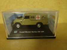 BOXED MODEL CAR LAND ROVER SERIES III 109 # 711XD RED CROSS