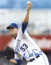 WILL  SMITH   KANSAS  CITY ROYALS     SIGNED AUTOGRAPHED 8X10  PHOTO