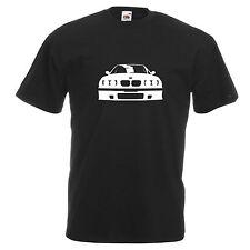 T-SHIRT BMW E36 M3 3 Series Compact 325i 320 Retrò Auto Da Uomo Nuovo Tee Regalo Papà