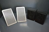 Genuine sega super megalo 2 arcade video game cabinet speakers pair pn 130-5096