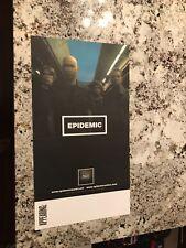Epidemic Promo Only Concert Tour Rock Music Metal Poster Epidemac 11X20 Mint