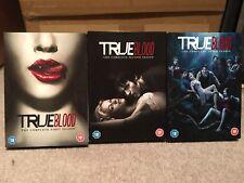 True Blood Seasons 1-3 DVD Lot
