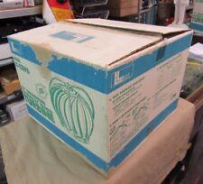 """New Old Stock 12"""" Galvanized Roof Wind Turbine Ventilator Leslie Locke LT-12WB"""