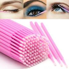 100Pcs Micro Brushes Disposable Microbrush Applicators Eyelash Extension Swab UK