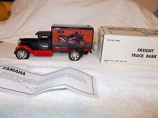 1993 ERTL Die Cast YAMAHA Freight Truck Bank 1:25 NIB  NOS