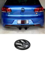 VW Golf 6 VI Emblem schwarz Glänzend hinten heckklappe Zeichen R GTI GTD MK6 #5