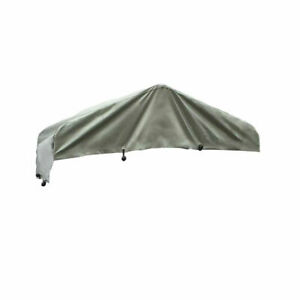 Gray Roof Cover for KennelMaster 4 ft. x 8 ft. x 6 ft. Dog Kennel.