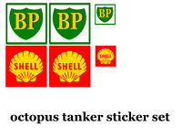 DINKY DIECAST TOYS OCTOPUS TANKER STICKER SET SHELL/BP