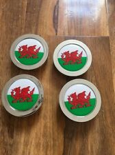 Alloy Wheel Center Caps Badges Wales Welsh Dragon Flag Various Logo