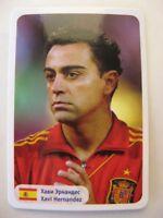 2014 World Stars Xavi Hernandez team Spain Espana RARE
