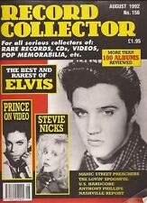 Record Collector Magazine No.156 August 1992 Elvis, Prince, Stevie Nicks Wrapped