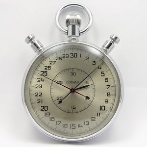 Stopwatch SLAVA mechanical vintage made in USSR