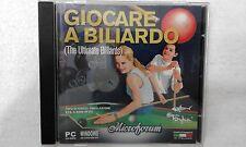 PC GIOCARE A BILIARDO - BILLIARD SIMULATOR - PC DVD BOX LOOK PHOTO BOX ITA