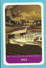 Berlin Philharmonic Hans Scharoun Cool Collector Card from Europe