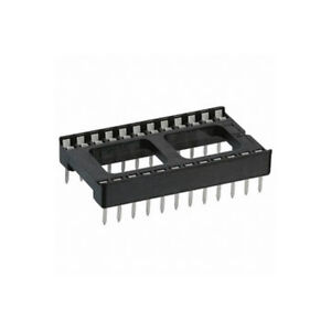 IC SOCKET 24PIN IC SOCKET DIP-24 ''UK COMPANY SINCE1983 NIKKO''