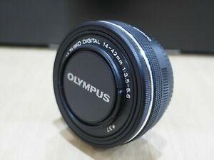 NEU: Olympus m.Zuiko Digital ED 14-42 mm EZ Pancake schwarz + 2 Jahre Garantie