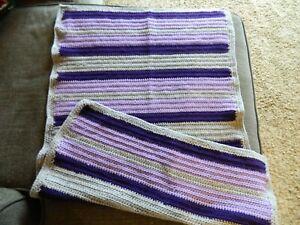 Crochet Baby Blanket, Stroller?  Handmade, New, Unused
