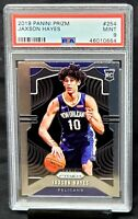 2019 Prizm RC Pelicans JAXSON HAYES Rookie Basketball Card PSA 9 MINT - Low Pop