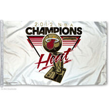 Miami Heat Nba Champions Flag and Banner