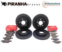 Mini R53 1.6 Cooper S Works GP 06 Piranha Front Rear Brake Discs Pads
