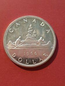 Canada 1966 Silver Dollar (800 Silver)