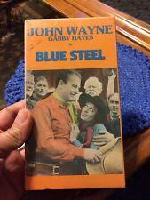 Blue Steel John Wayne George Gabby Hayes VHS NEW Eleanor Hunt Ed Peil B&W
