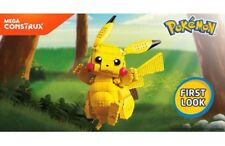 Mega Construx Pokemon Jumbo Pikachu! New in box!