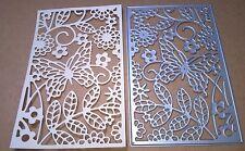 Panel De Corte De Metales Die plantilla de mariposa álbum de recortes en relieve artesanía Hazlo tú mismo