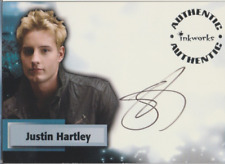 Justin Hartley Inkworks Smallville autograph auto card A46