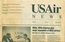 Employee news - USAir News - 1992 March 16-Volume 4, Number 6