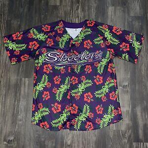 2020 Sugar Land Skeeters Hawaiian Print Jersey Swatson Houston Astros AAA XL New