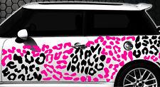 Leopard Pixel Cyber Camouflage XXL Set Auto Aufkleber Sticker Stylin Wandtattooy