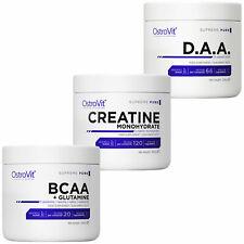 OSTROVIT BARGAIN BCAA + L-GLUTAMINE 200g + Creatine Monohydraate 300g + DAA 200g