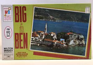 """Vintage Jigsaw Puzzle 1965, Budva Yugoslavia Big Ben Series, 1000 Pieces, 26X20"""""""