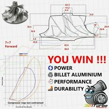 BILLET Compressor Wheel Turbo Garrett GTX3582 T04E (62.5/82.4 mm) 7+7  4E69