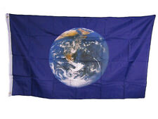 3x5 Planet Earth Day Globe Mother Earth Poly-Nylon Flag 3'x5' Banner Grommets