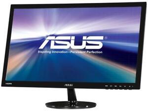 """ASUS VS Series VS247H-P 24"""" (Actual size 23.6"""") Full HD 1920 x 1080 60Hz 2ms HDM"""