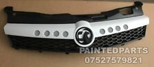 CUSTOM MADE ASTRA VXR WHITE NURBURGRING OPC  BLACK GRIFFIN TWINTOP FRONT GRILL