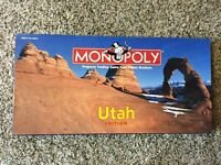 Rare BRAND-NEW UTAH Monopoly Game!