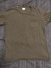 selected homme pocket t, Large, Olive Green, Has Some Damage