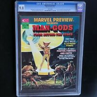 MARVEL PREVIEW #1 (1975) 💥 CGC 9.8 WHITE PGs 💥 Highest Graded - 1 of ONLY 18!