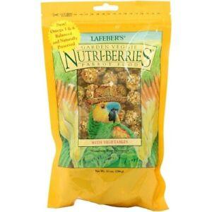 LAFEBER NUTRIBERRIES GARDEN VEGGIE 284G - COMPLETE PARROT FOOD/TREAT