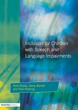 USED (VG) Inclusion for Children with Speech and Language Impairments: Accessing