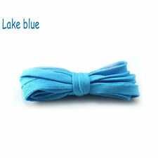 1 pair Lake Blue Shoe Lace Shoelaces Sneaker Boots Good-looking 110cm
