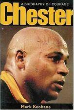 """Chester Williams Afrique Du Sud Rugby Livre """"Une biographie de Courage"""" Mark Keohane"""